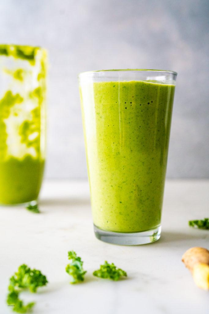 creamy kale avocado smoothie